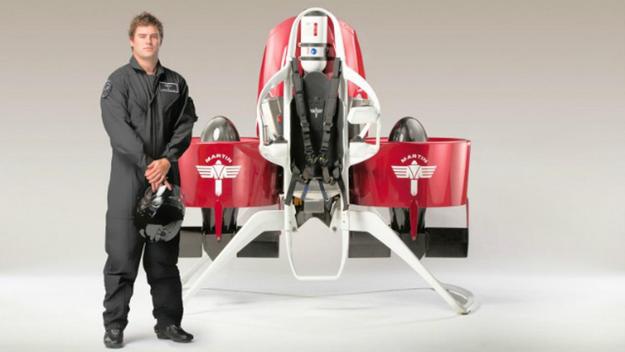 Усовершенствованная модель Martin Jetpack поступит в продажу в 2014 году