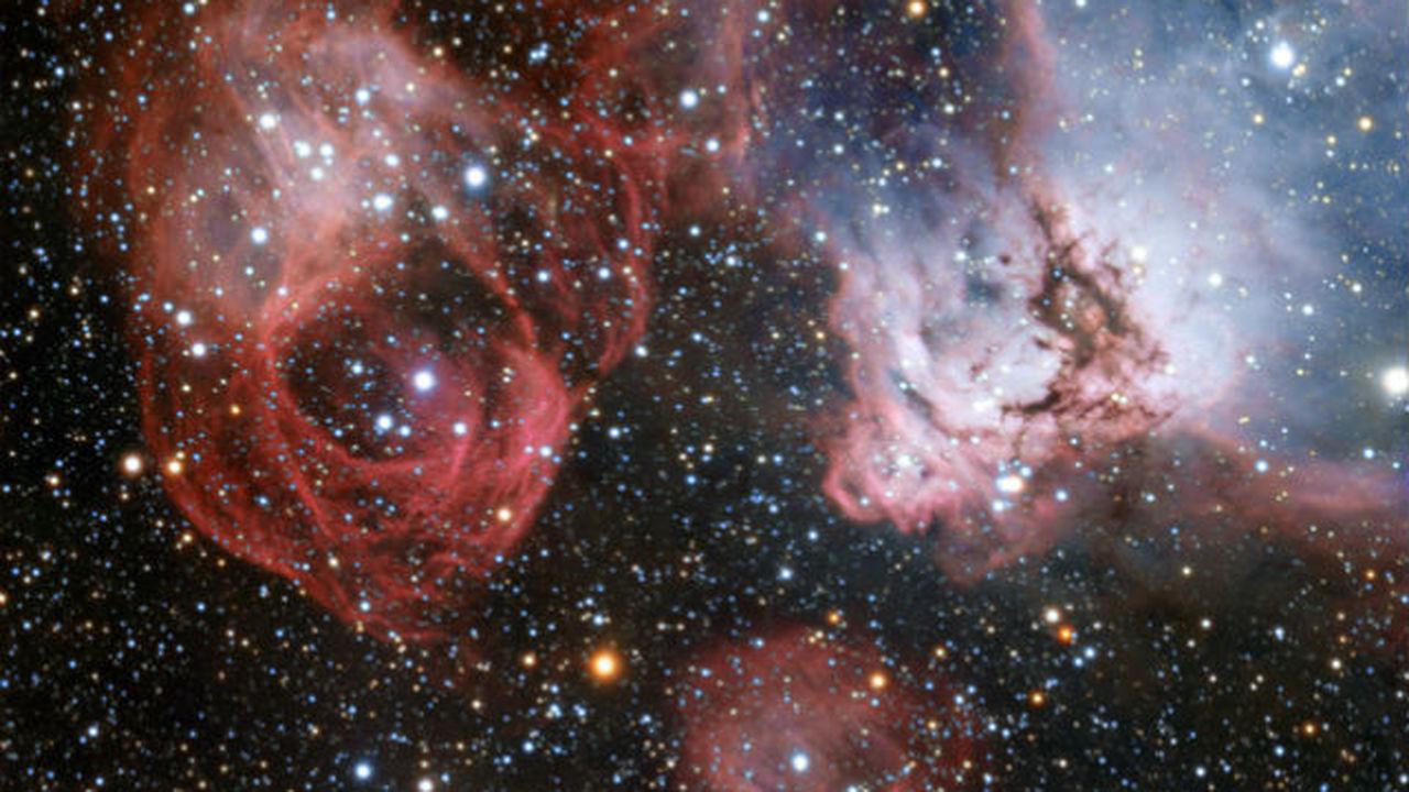 В наименее изученной зоне соседней галактики астрономы увидели рождение и смерть звёзд