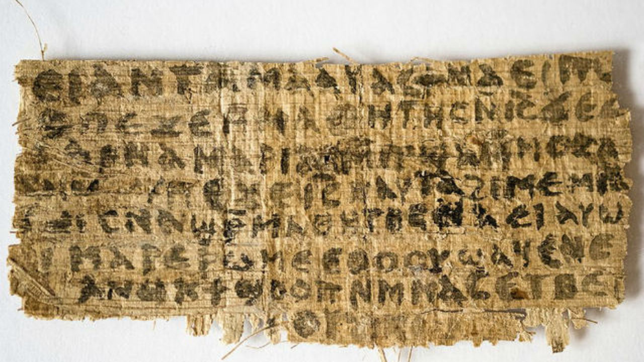 Текст папируса вызвал спор среди религиоведов о жене Иисуса