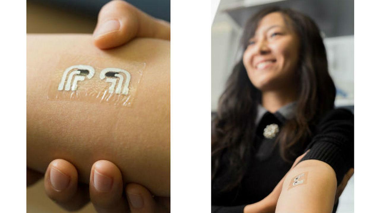 Временная татуировка измерит уровень глюкозы без боли