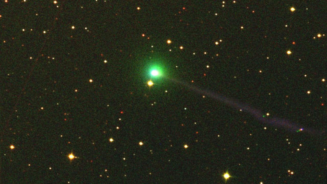 Российский робот-телескоп МАСТЕР обнаружил новую комету