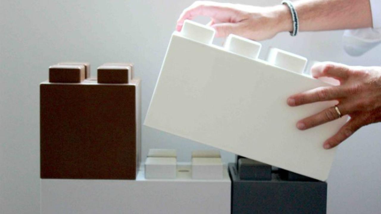 Дома предложили строить из гигантских лего-блоков