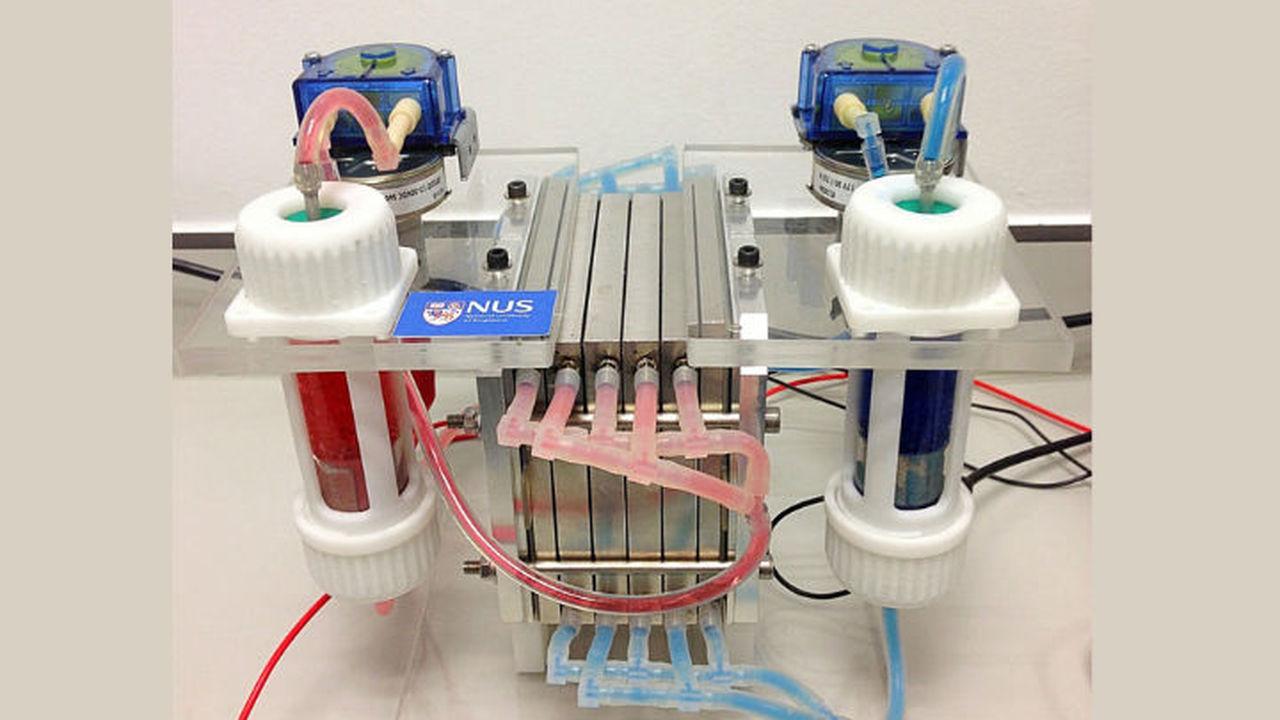 Создана проточная батарея высокой ёмкости