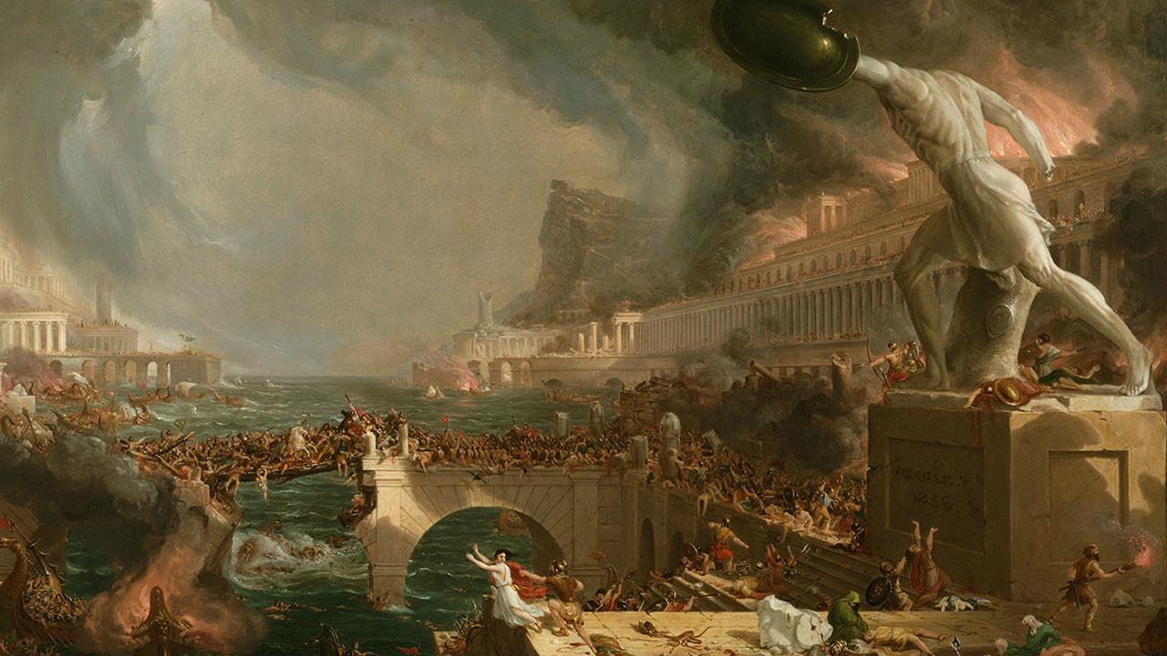 Вызванный извержением вулкана холод мог стать причиной войн, голода и падения империи