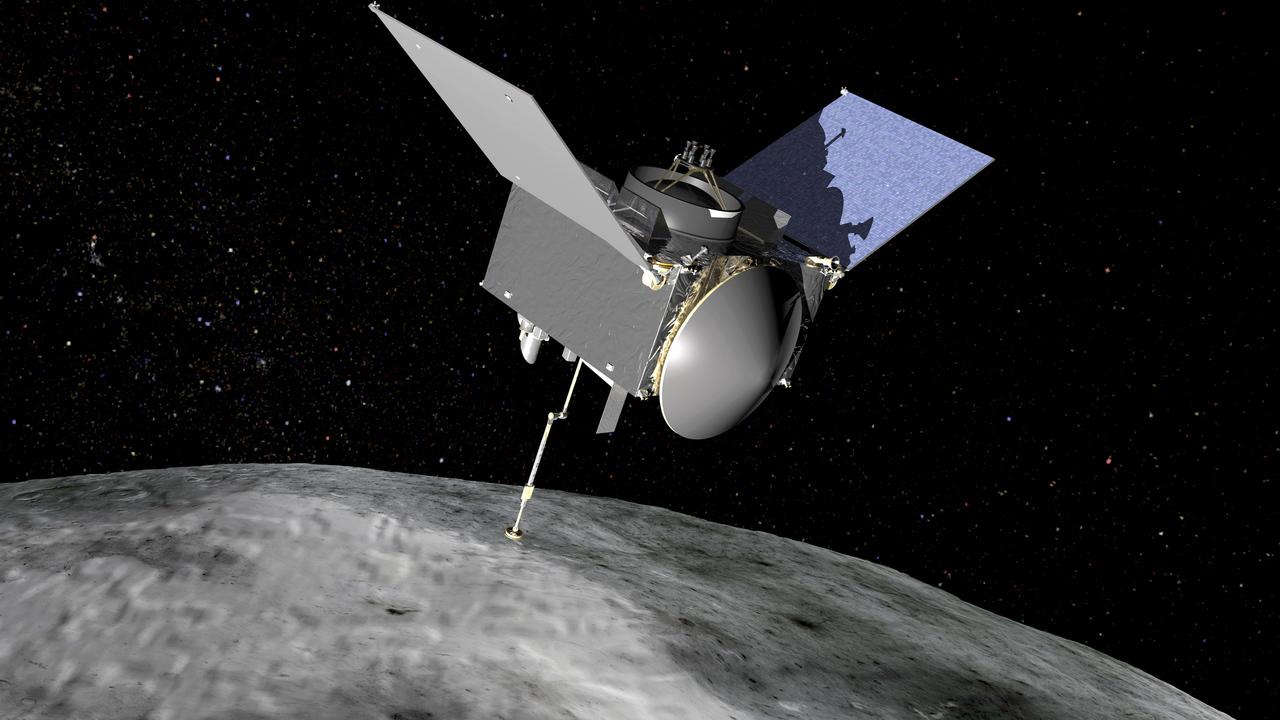 Аппарат NASA доставит на Землю образцы грунта с астероида