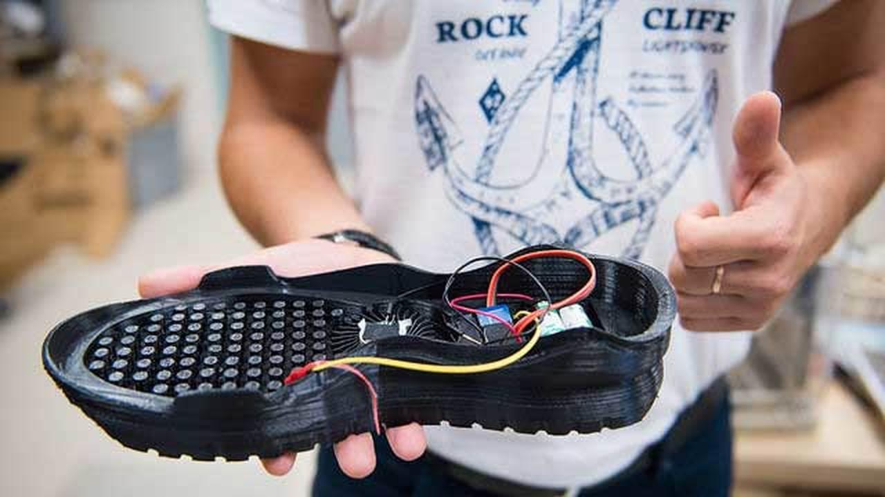 Студент МИСиСа напечатал на 3D-принтере кроссовки с кондиционером