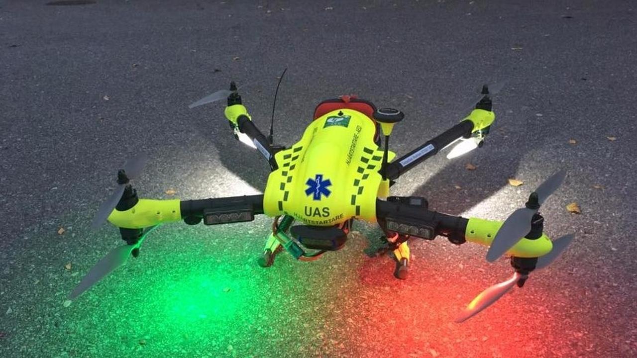 Дроны-дефибрилляторы спасут многие жизни до приезда скорой помощи