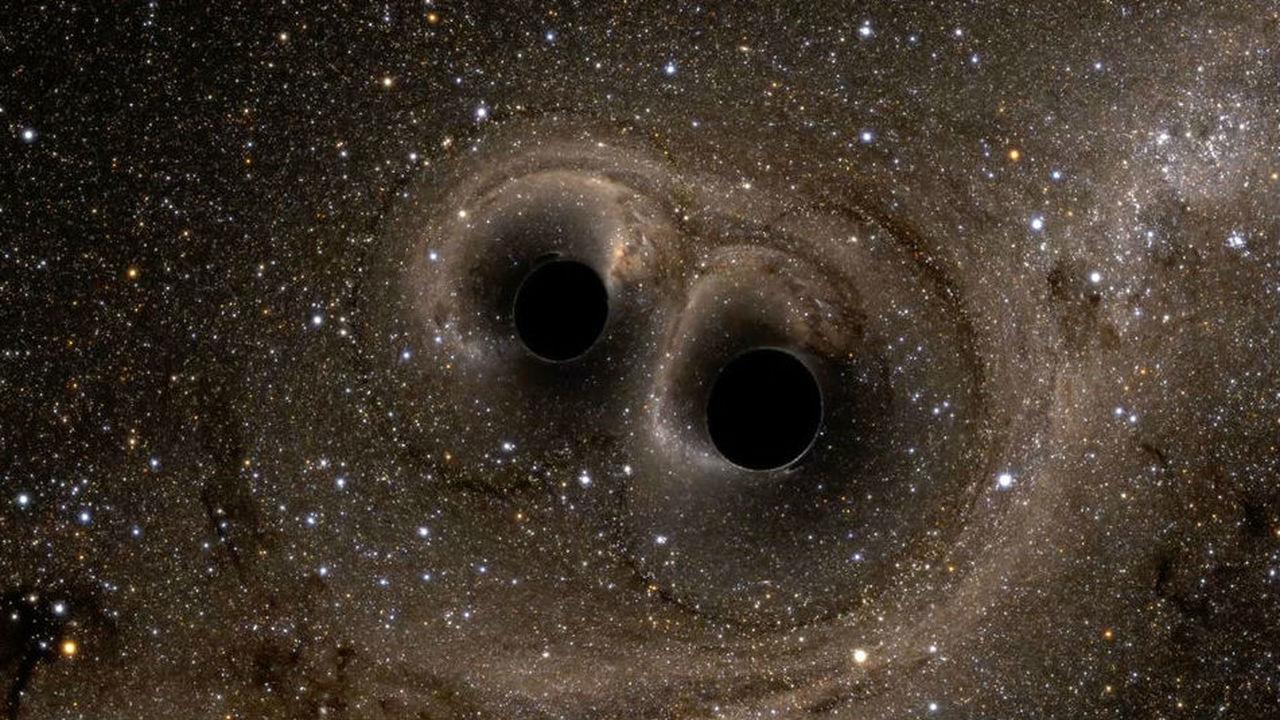 Поймать волну: кажется, источник гравитационного излучения наконец удалось разглядеть в телескопы