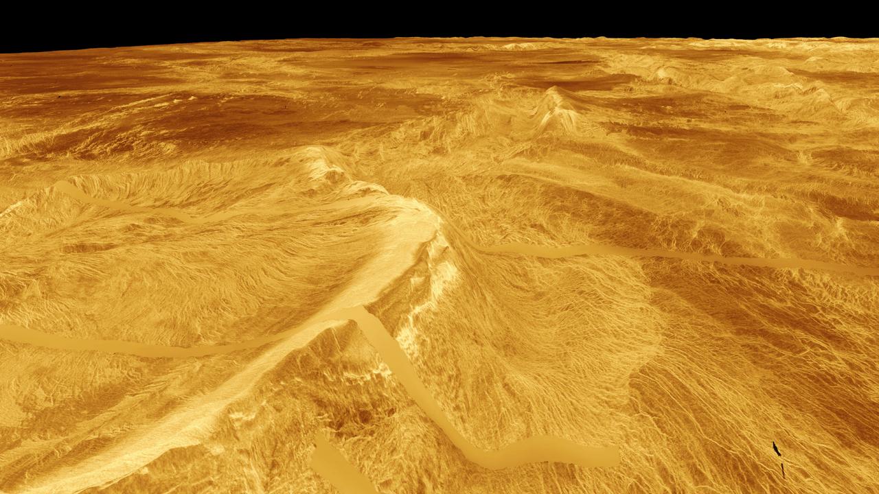 Ночная атмосфера Венеры опровергла все существующие представления о ней