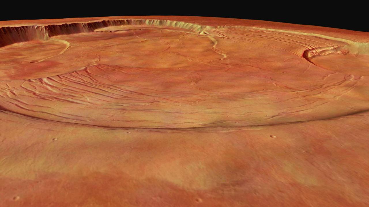 Молодым здесь не место: метеориты указали на невероятный возраст марсианских вулканов