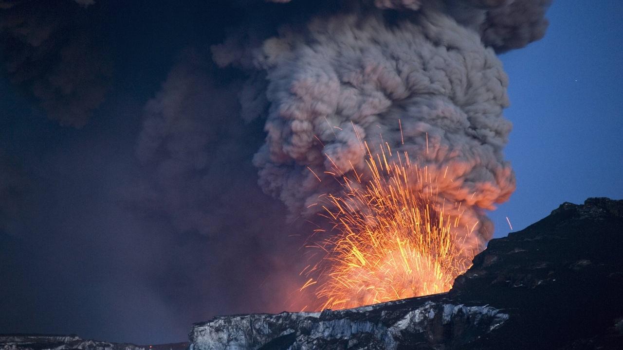 Геологи: глобальное потепление разбудит вулканы