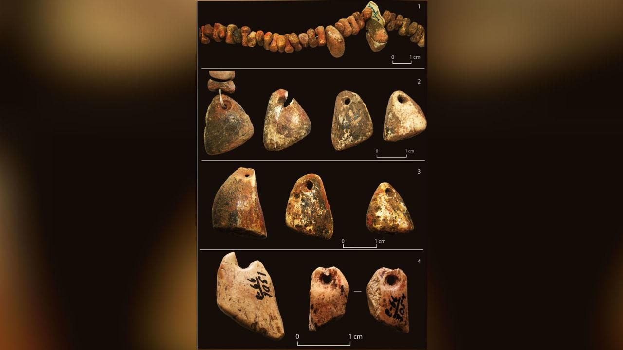 Археологи: тысячи украшений с палеолитической стоянки Сунгирь никто не носил при жизни