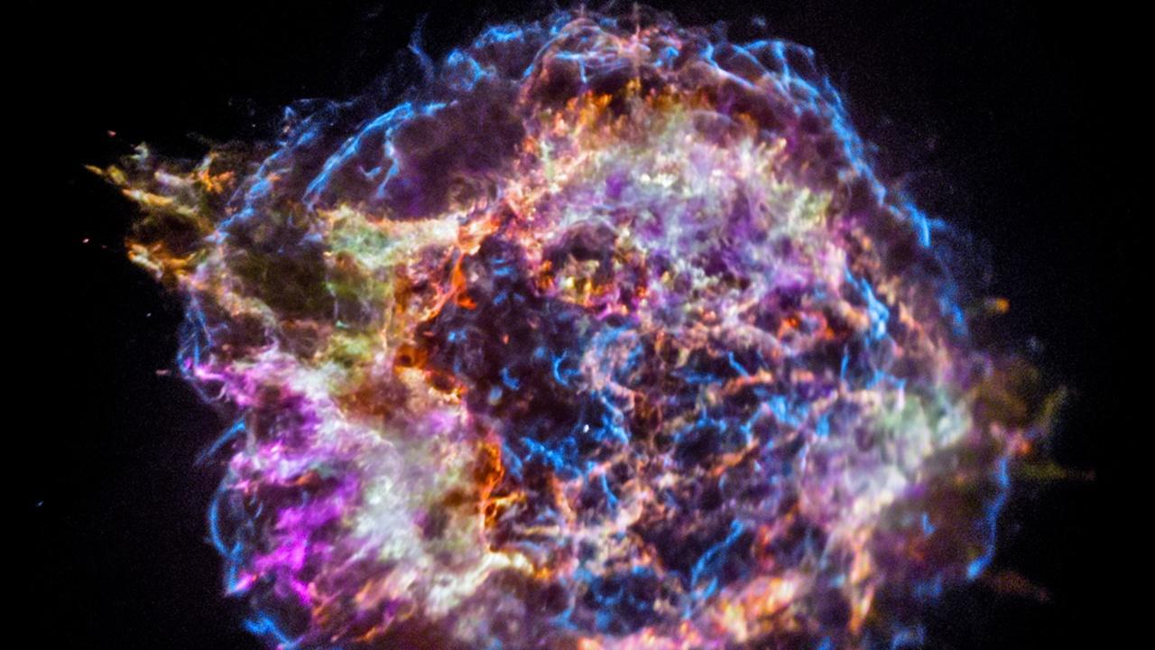 """Астрономы создали """"химический портрет"""" остатка взорвавшейся звезды"""