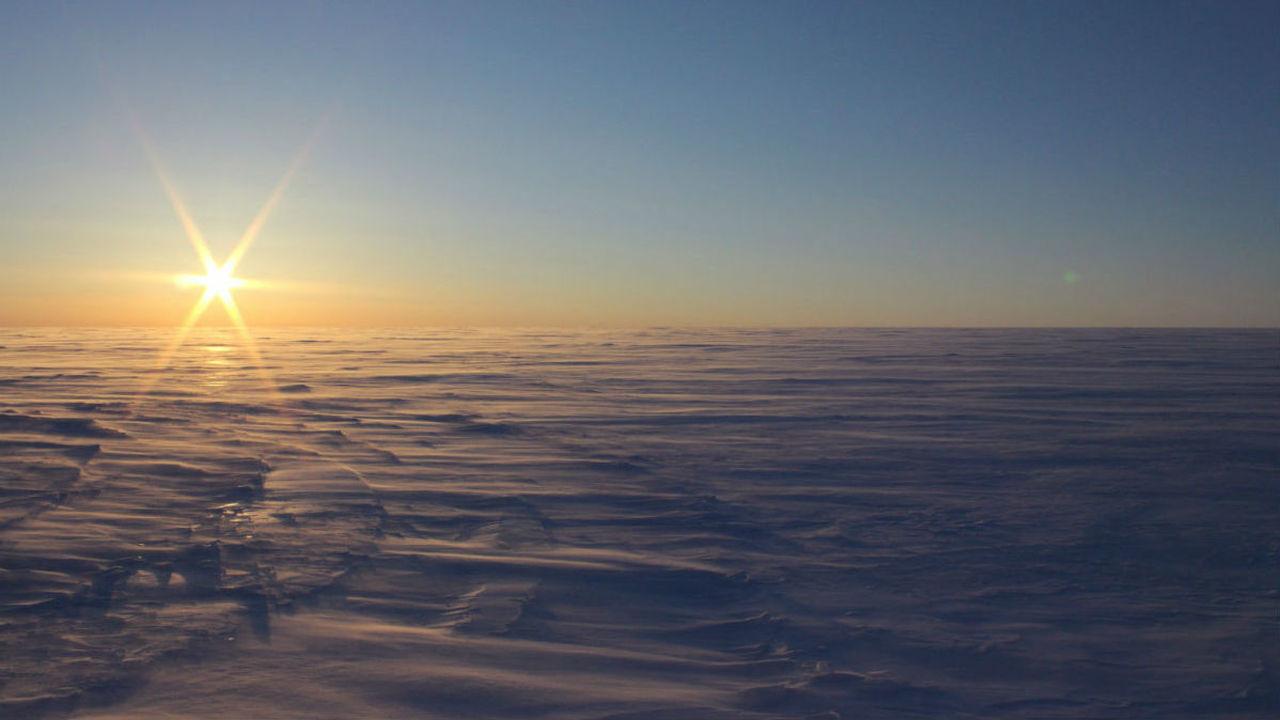 В Арктике обнаружены первые в мире солёные подлёдные озёра