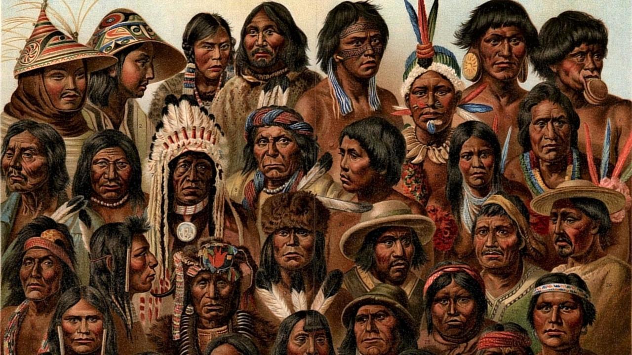 Коренное население Америки произошло от 250 первых переселенцев