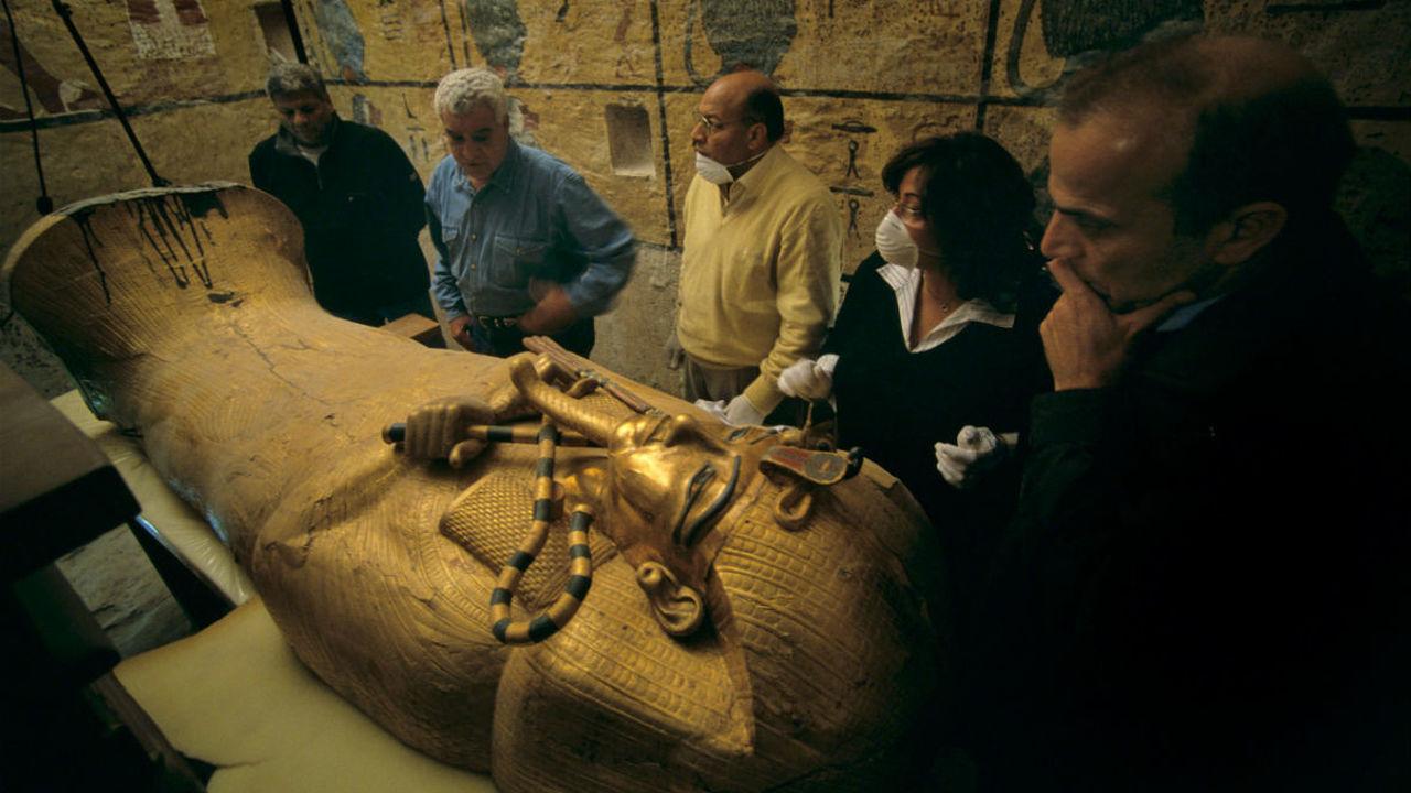 Конец легенды: в гробнице Тутанхамона не нашли тайных комнат