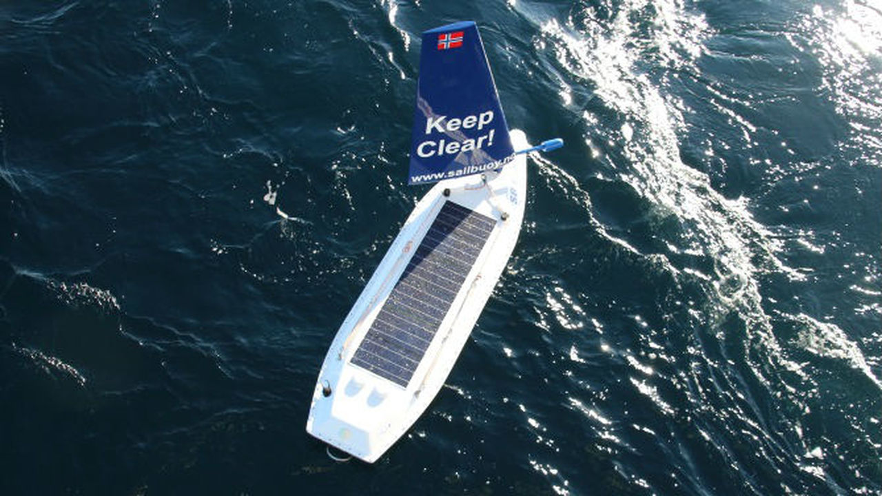 Беспилотный парусник впервые пересёк Атлантический океан
