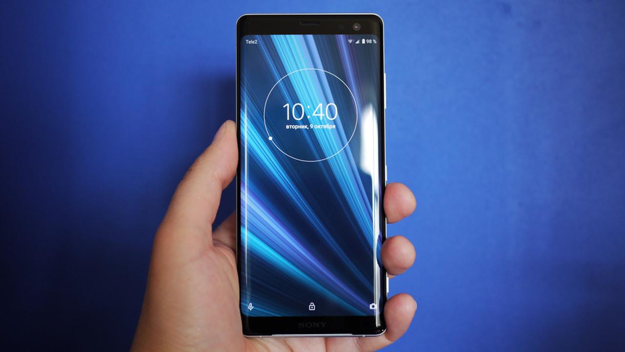 Обзор смартфона Sony Xperia XZ3  OLED в чувствительных рамках e13e9c5a6b908