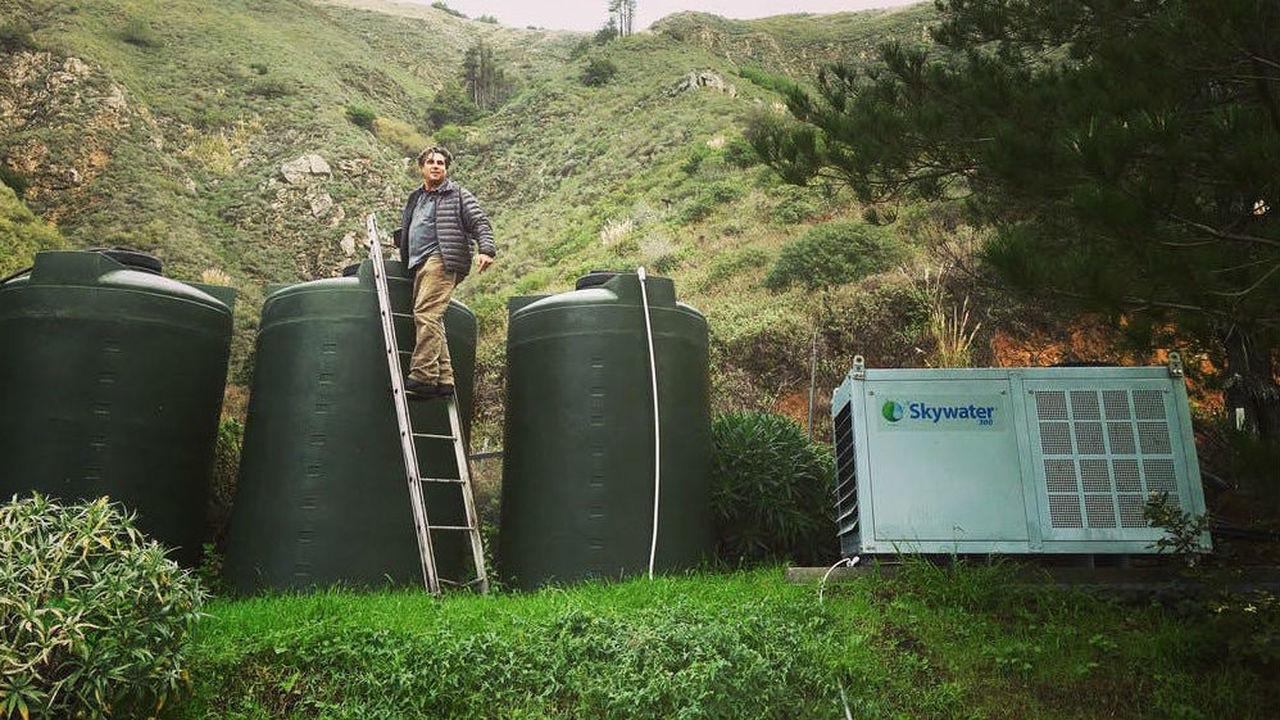 Победитель конкурса XPrize продемонстрировал устройство, собирающее пресную воду из воздуха