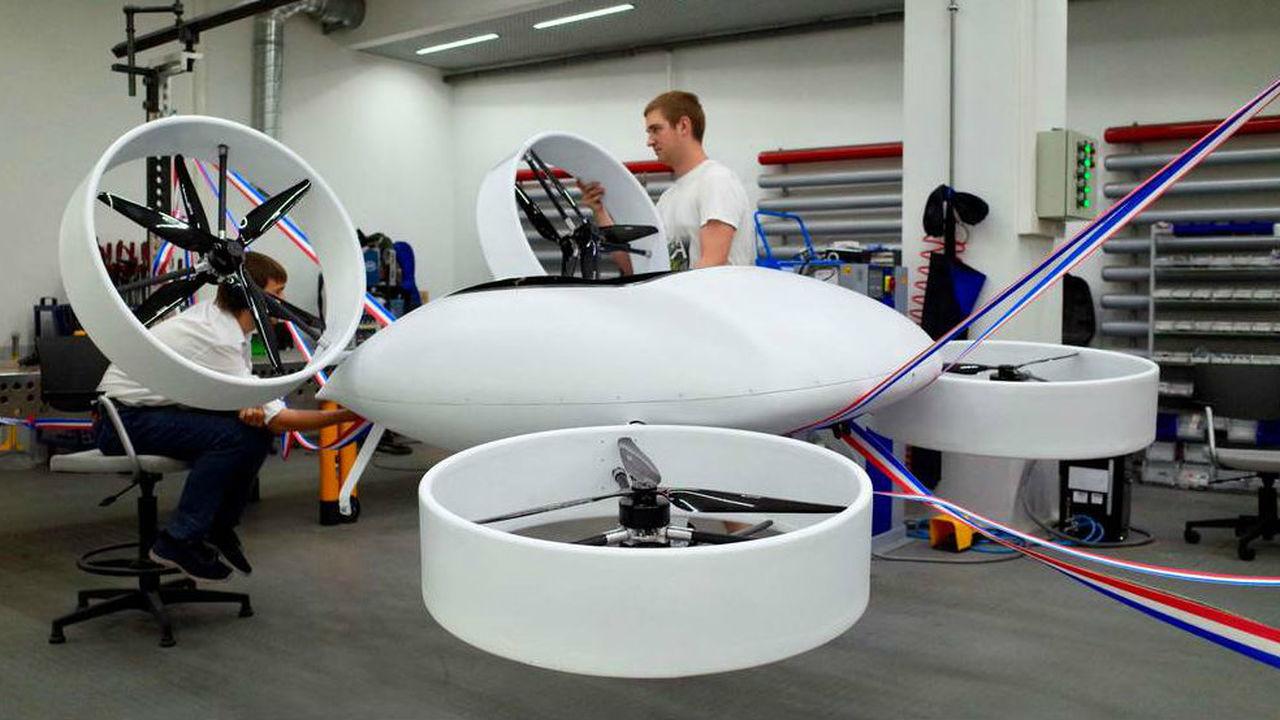 Прототип российского летающего такси успешно прошёл испытания