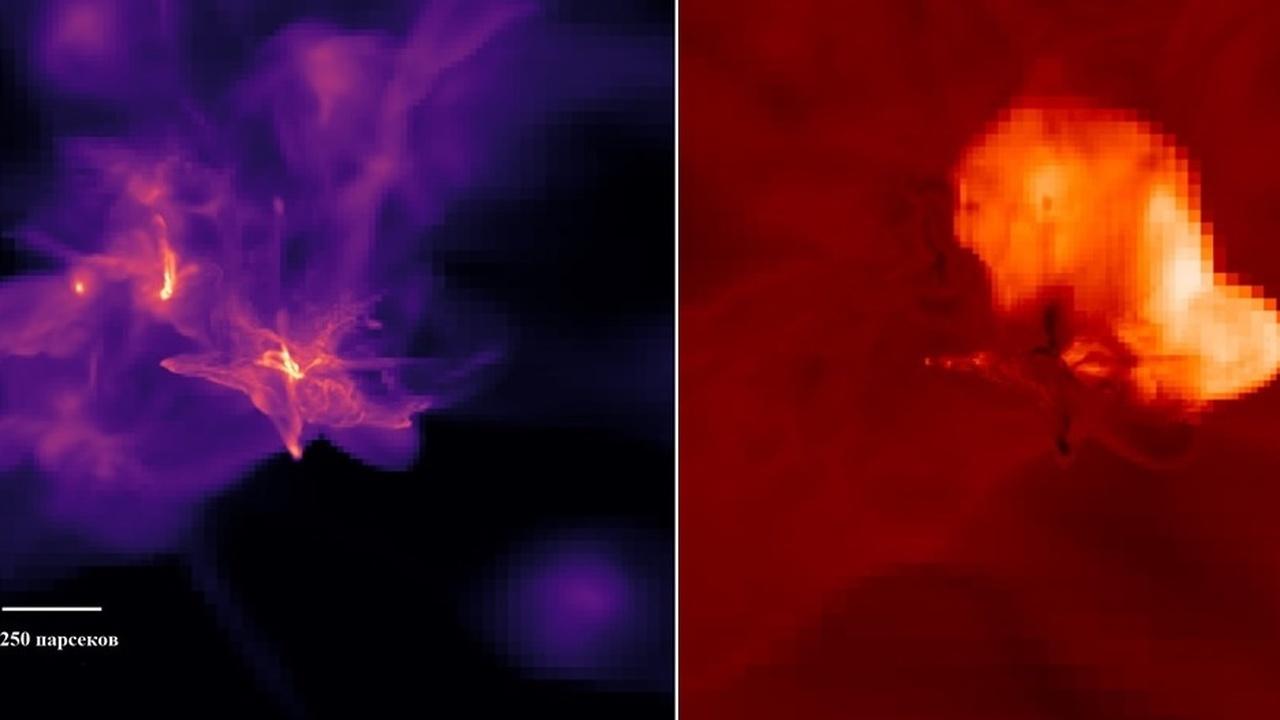 Астрономы выяснили, как подсмотреть за рождением сверхмассивной чёрной дыры