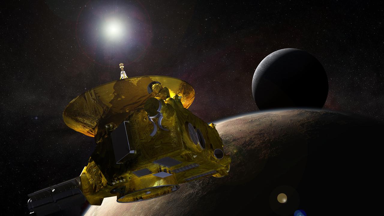 """Астероид, к которому приближается зонд """"Новые горизонты"""", ведёт себя странно"""