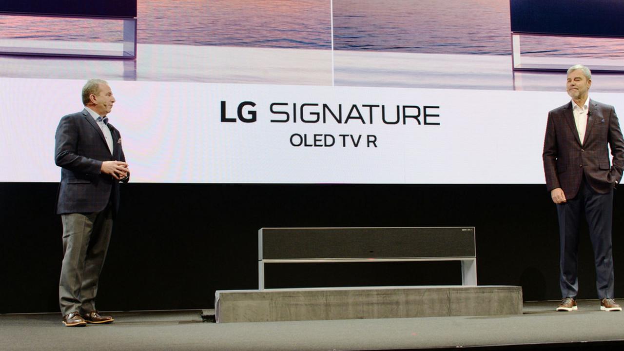 """""""Прячущийся"""" телевизор LG поступит в продажу в этом году"""