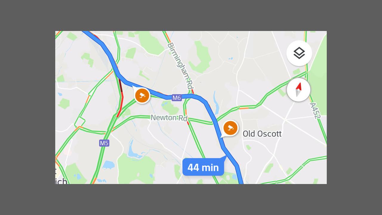 В приложении Google Maps появились дорожные камеры