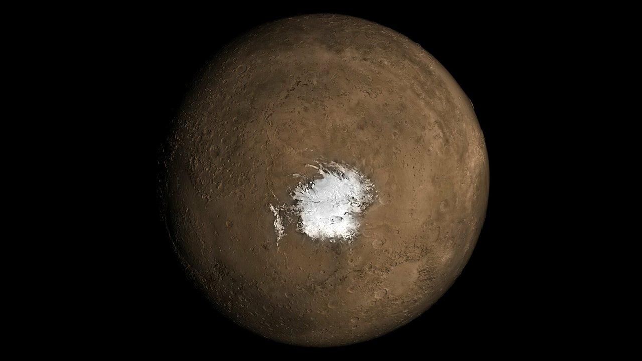 Жидкая вода на Марсе существует благодаря жидкой магме