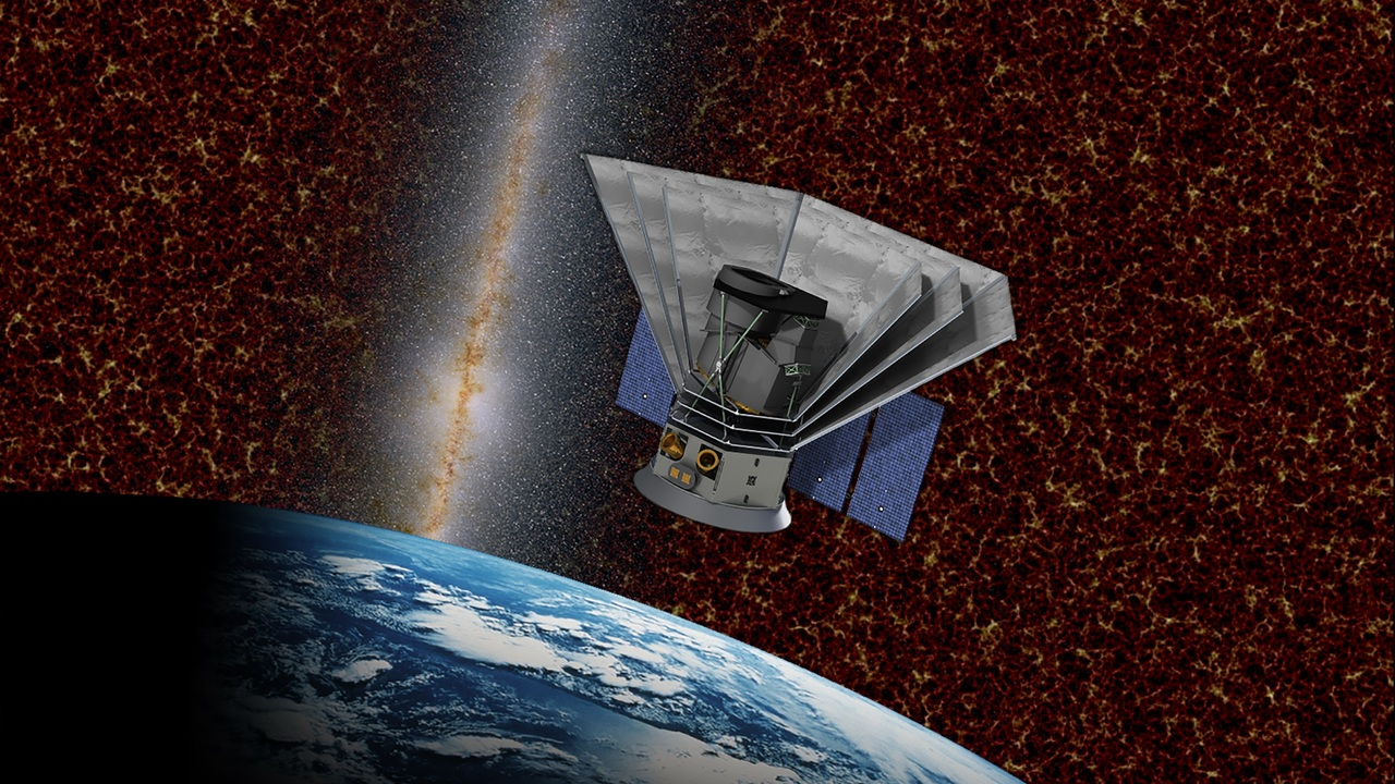 Тёмная энергия и молекулы жизни: НАСА запустит новый космический телескоп
