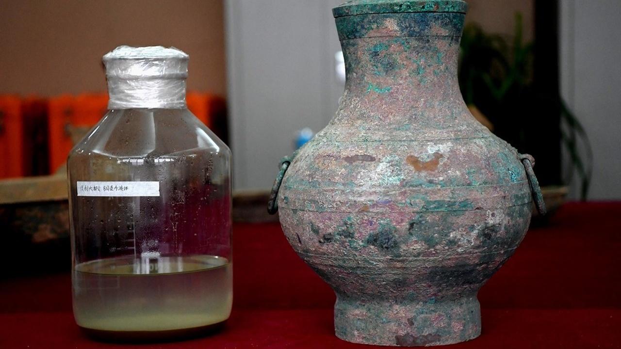 """В китайской гробнице найден """"эликсир бессмертия"""" из древних легенд"""