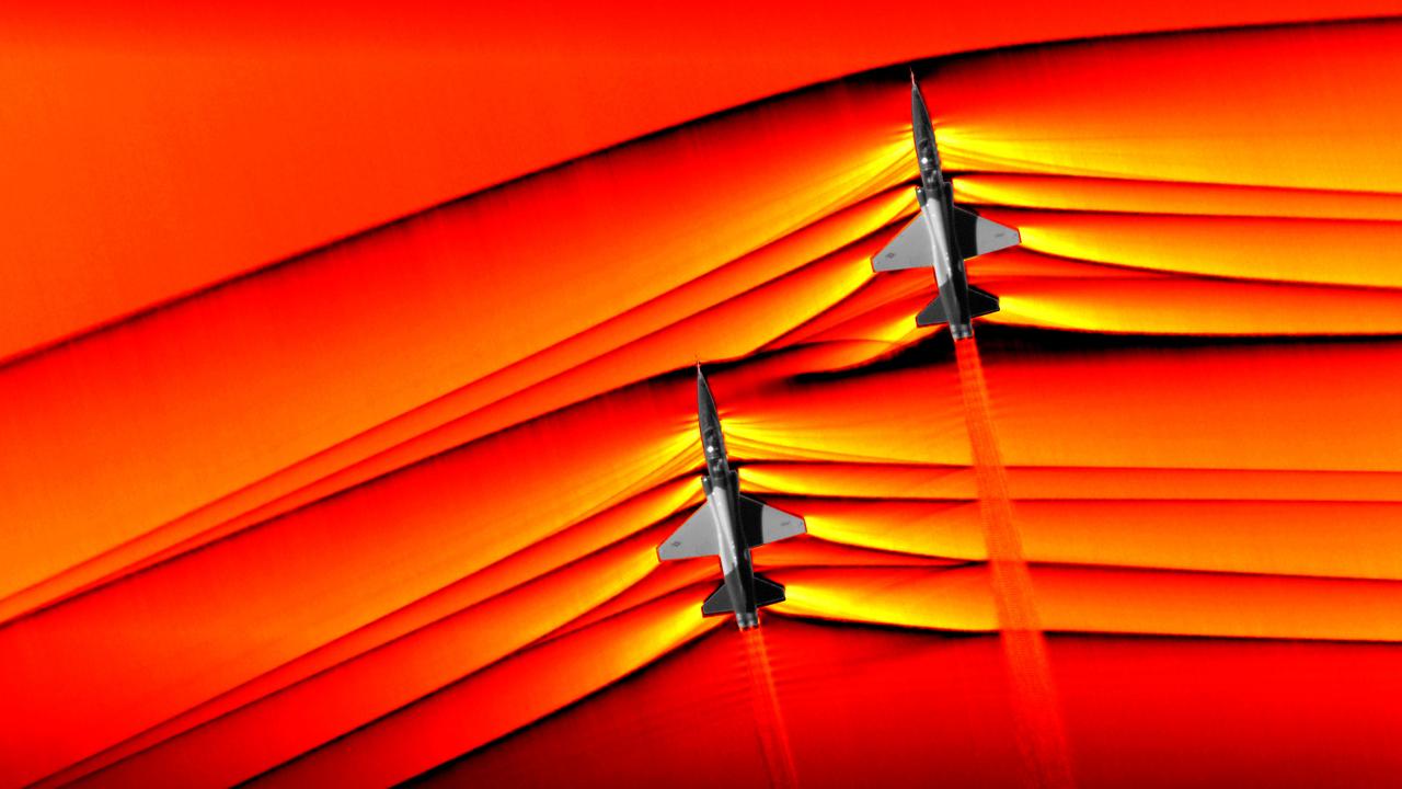 Будущее авиации: НАСА получило уникальные фотографии сверхзвуковых ударных волн