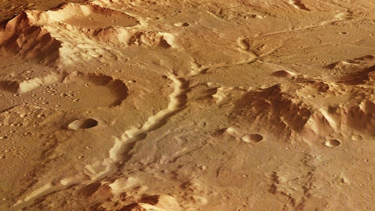 Древний Марс был более влажным, чем Земля