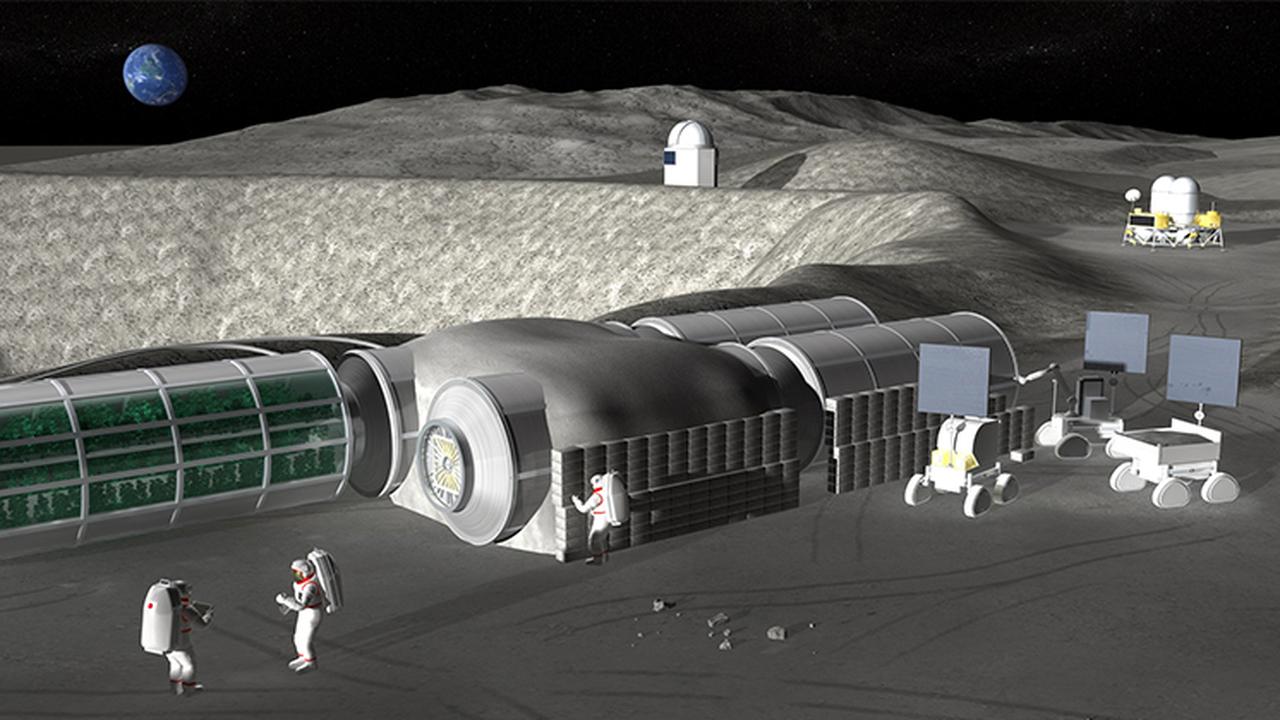 Япония испытала роботов, предназначенных для строительства лунной базы
