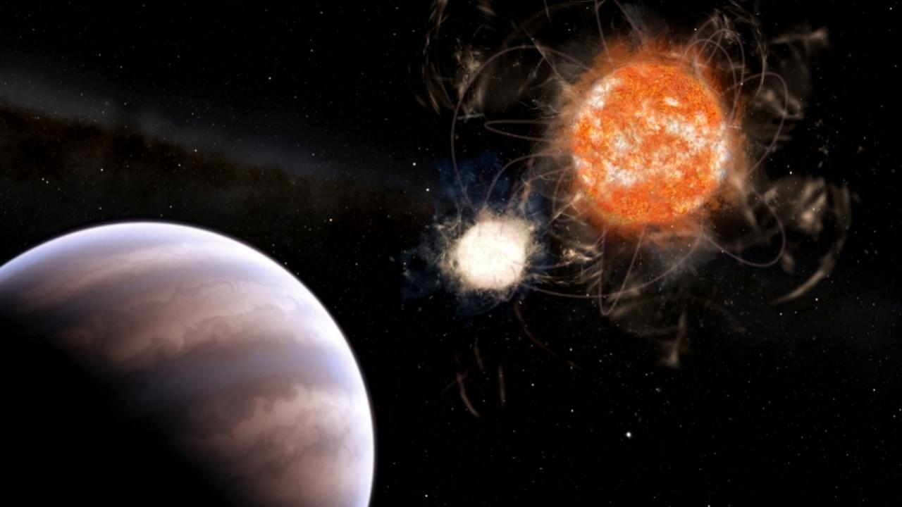 """13 Юпитеров в 1: в двойной системе с """"мёртвой"""" звездой найдена гигантская планета"""