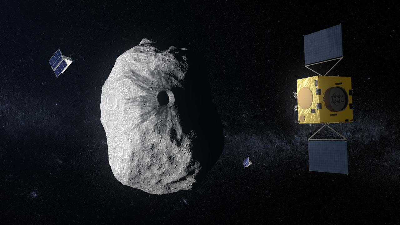 Самоуправляемый космический зонд поможет предотвратить столкновение астероидов с Землёй