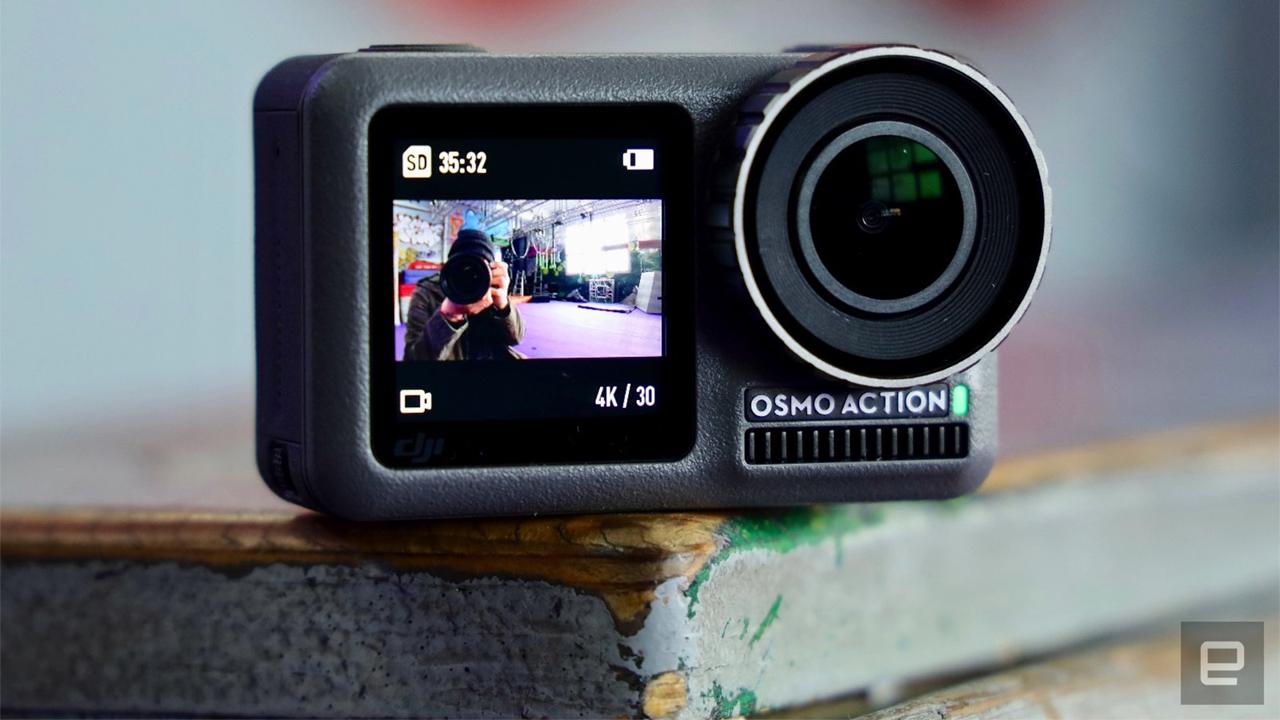 DJI выпустила недорогую экшн-камеру Osmo Action