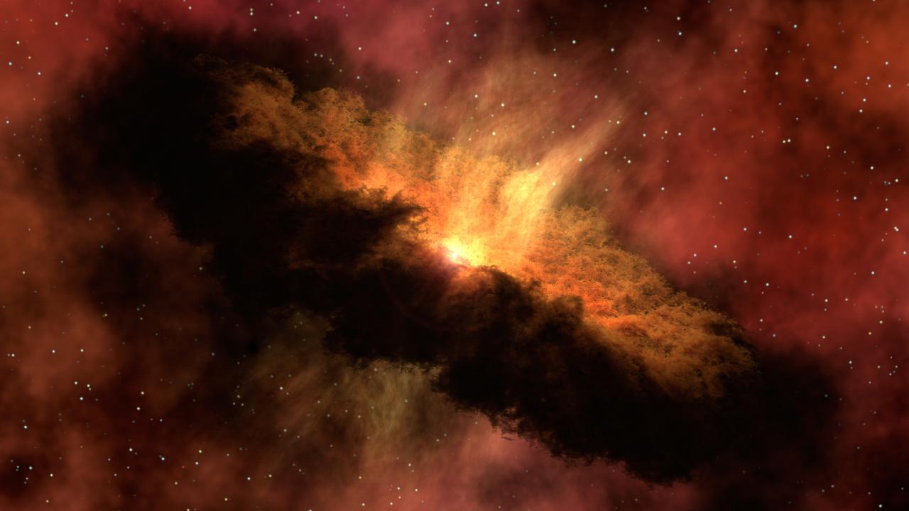 """Необъяснимо? """"Мигающая"""" звезда озадачила астрономов"""