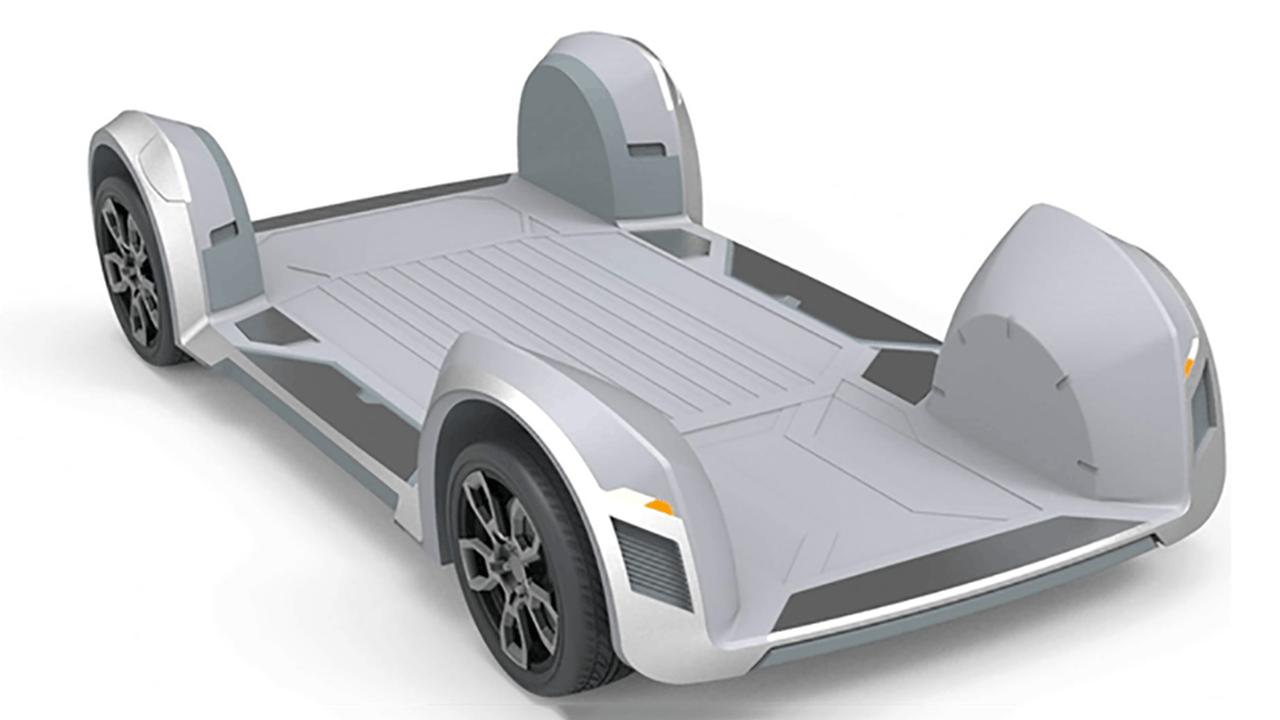 В новом электромобиле всё, от двигателя до руля, спрятано в колесе