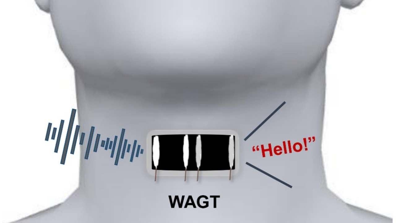 Графеновая наклейка на горло заменит немым голосовые связки