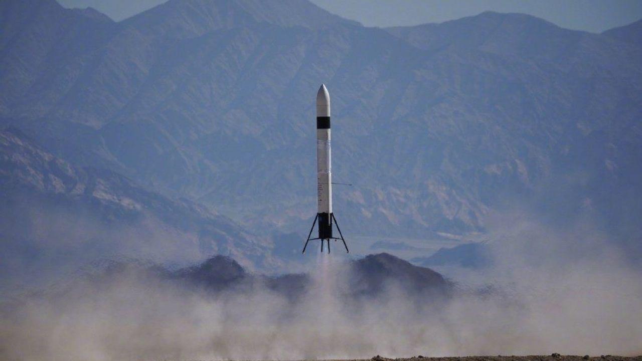 Китайская частная многоразовая ракета покорила новую высоту и мягко приземлилась