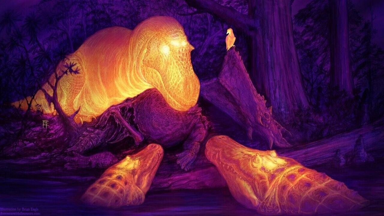 Тайна загадочных отверстий в черепе тирекса разгадана?