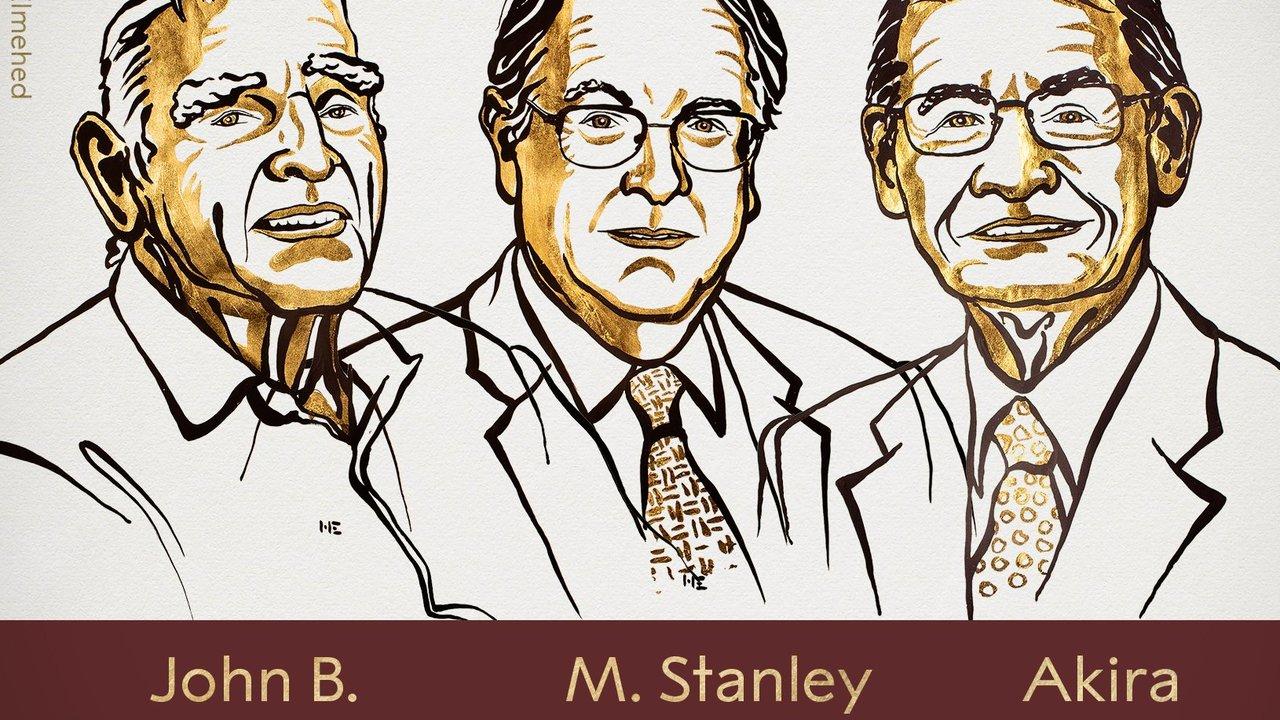 Всем энергии: Нобелевскую премию вручили за литий-ионные батареи
