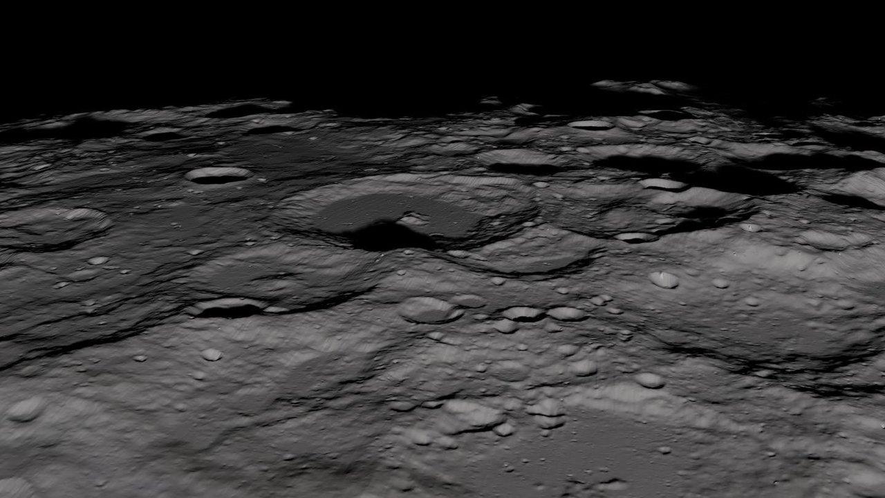Астрономы: лёд попал на Луну из нескольких источников