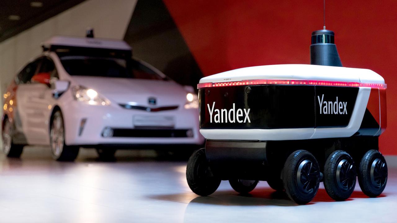 В Яндексе сделали шестиколёсного робота-курьера