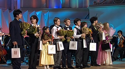 16th International Television Contest for Young Musicians 'Nutcracker'. Final round and The Closing Ceremony