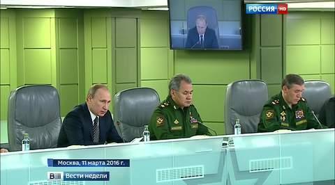 Путин: операция в Сирии - экзамен для российской военной техники