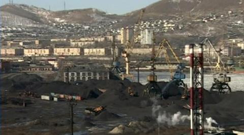 Находка задыхается от угольной пыли