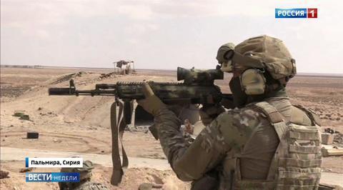Пальмира: бойцы Сил специальных операций ВС РФ не оставили террористам шанса