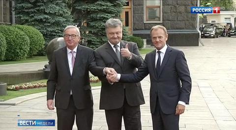 Саммит Украина – ЕС: ритуальные фото и дежурные евроулыбки